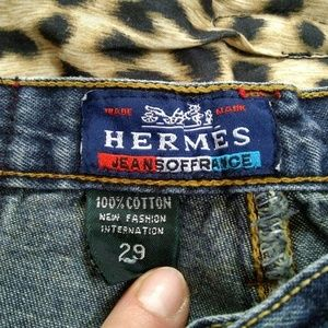 womens Hermes jeans